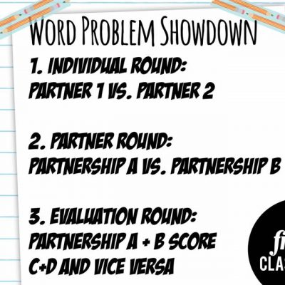 Partnership Power in Math: Word Problem Showdown