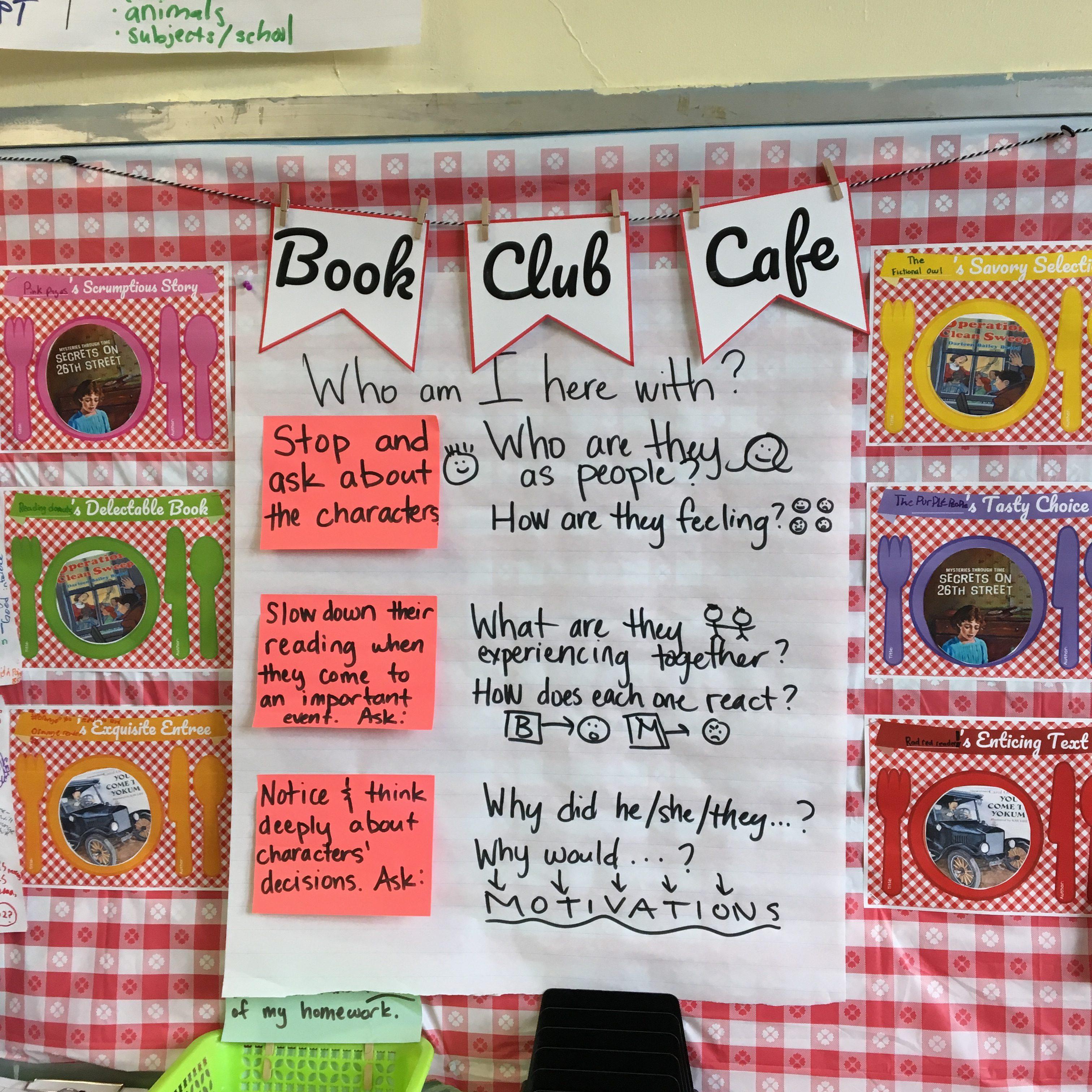 Book Club Cafe (Free Resource!)
