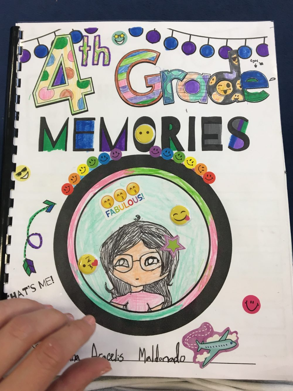 End of Year Memory Books! Grades 1-5